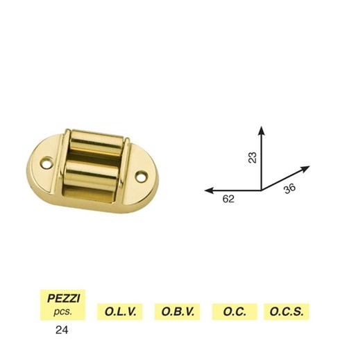Art. 330 - Round roller belt guide